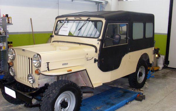 Ricondizionamento Jeep CJ6